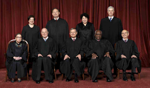 The Justices of the United States Supreme Court in 2018.