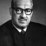 Thurgood Marshall became a Supreme Court Justice in 1967, and served until 1991.