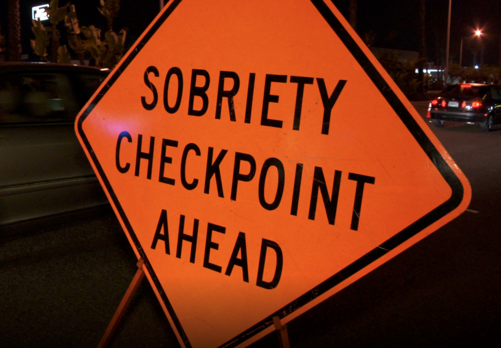Cannabis can cause a vehicle search at a DUI checkpoint